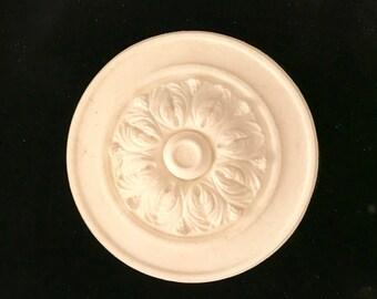 EFEX Arcanthus Leaf Rosette , Historic Moulding, Silicone Moulding, Embellishment , Furniture Restoration , FREE SHIPPING