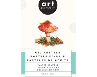 Water Soluble Oil Pastels, Basics , Art Philosophy, free shipping