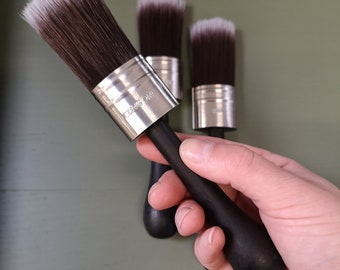 S30 ClingOn, Paint Brush, Short brush, Chalk Paint Brush,Artist Gifts, FREE SHIPPING.