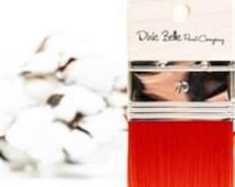 Scarlet: Palm size paintbrush for Chalk paint, Mineral Paint, or Silk Paint