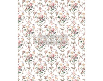 New Prima Redesign Transfer FLORAL COURT with Free Shipping