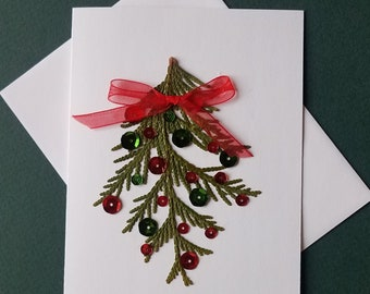 Winter Holiday note cards