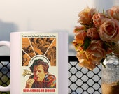 Harry Styles Vintage Poster on Coffee Mug