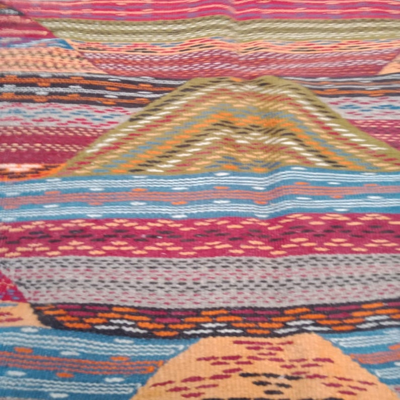 Berber rug Handmade wool rug authentic azilal Moroccan Picasso rug Colorful rug