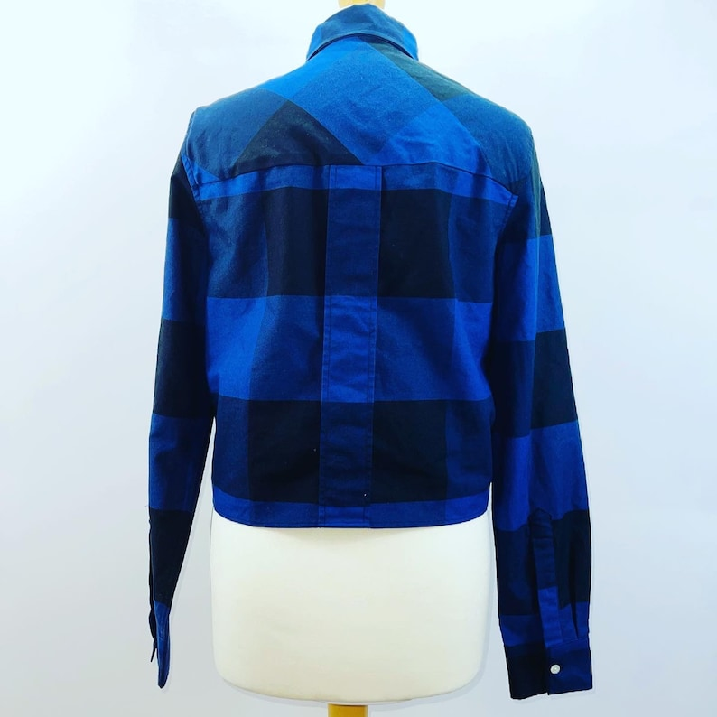size 8 Bnwt Women/'s Fred Perry Laurel Wreath Gingham Boxy Shirt