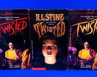 Twisted RL Stine (Choose Your Cover)