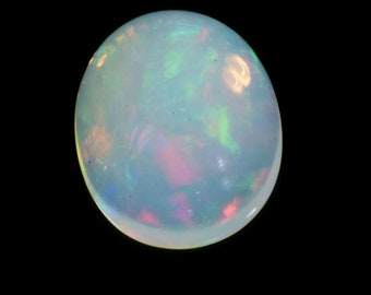 Ethiopian Mined Natural Ethiopian Opal Oval Cabochons Most Beautiful Stone Of Vived Flashes #NY1632S 3 Cts Weight Of 11x9 Mm Size