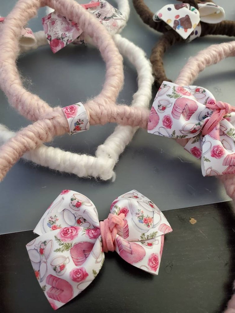 Easter headband gifts for kids Easter basket filler piggy set Pink bunny ears headband bunny ears