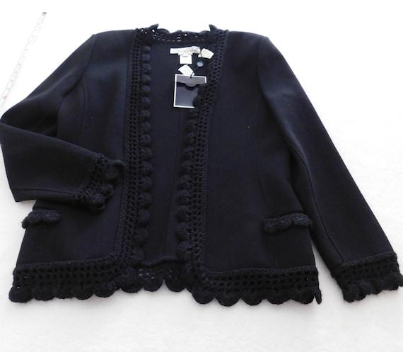 Adele Simpson black jacket