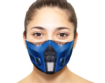Mortal Kombat Mask Etsy