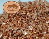Bare Bright Copper Chops Shavings Shreds Turnings 10lbs - Crafts Orgone Pyramids Inlay Resin Art Texturing Alloy with gold silver