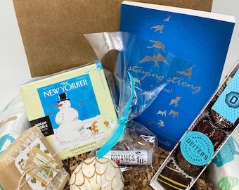 Winter Gift Women's. Get Well Care Package. Women of Faith. Gourmet Chocolate Truffles.  Lip Balm.  Handmade Spa Soap. Aromatherapy.