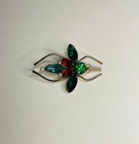 Vintage Coro Sterling Large Insect Brooch