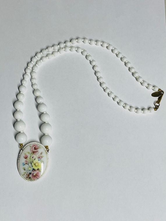 Vintage Miriam Haskell Pat 3427691 Necklace