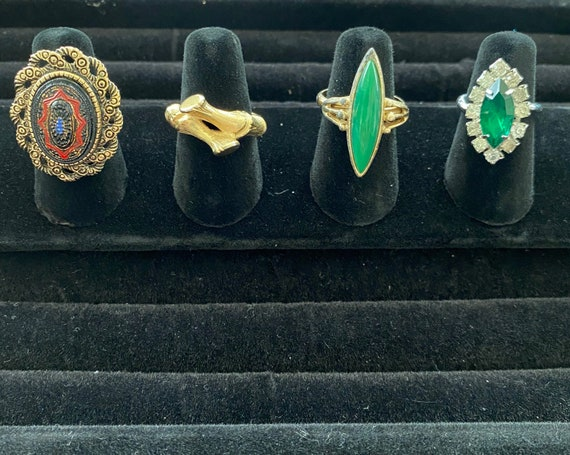 Vtg Sarah Coventry Ring Lot