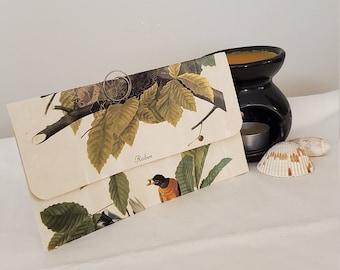 Robin and Leaf Printed Envelope