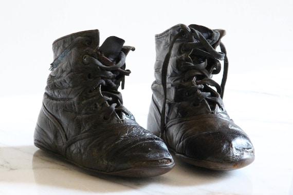 Antique European Baby Boots