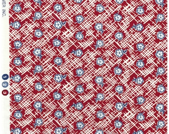 Vintage fabric by Dan River, Hard to find and out of print fabric - Great for masks, quilting, sewing, pillows, and other craft projects