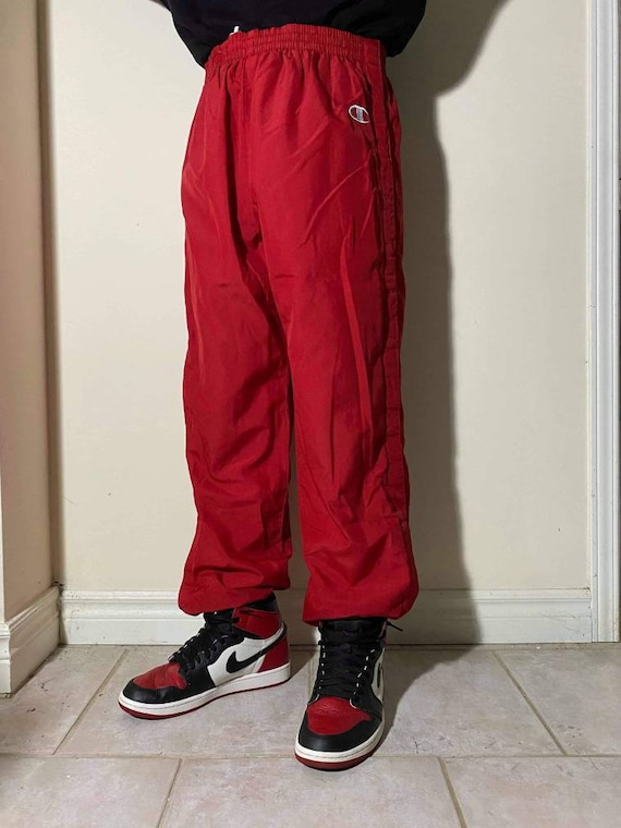 Red CHAMPION Trackpants