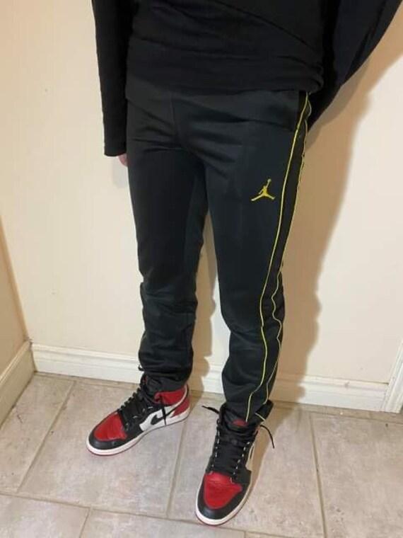 Jordan Pants w/ Yellow Details