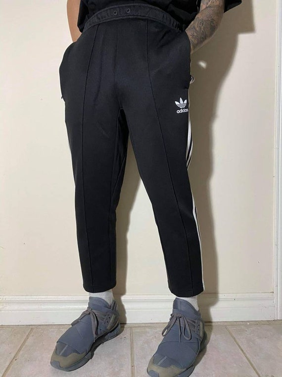 Small Adidas Black Track Pants