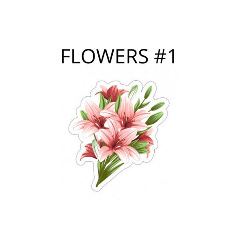 Flower Bundle Yard SignSymbol Pick your flower bundle from pictures above