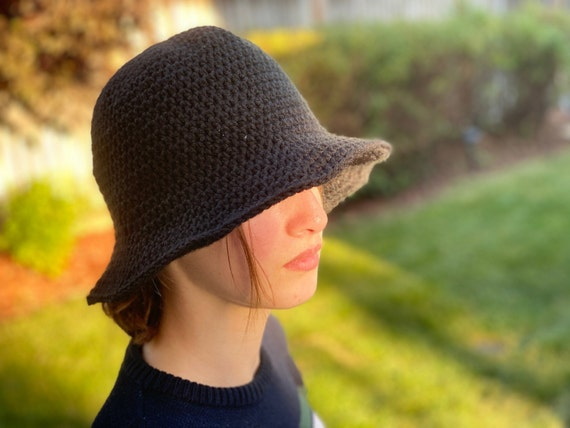 Beginner Crochet Bucket Hat PATTERN