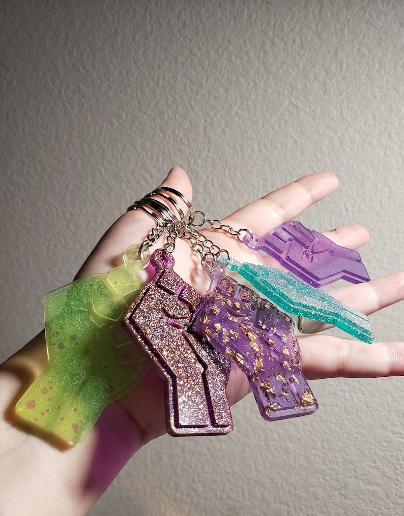 halloween bats charms Variety Key-ring Charms anchors BLM fist glitter goth no-touch tools keychains cute