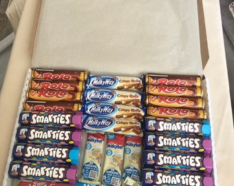 for self-adhesive to christening Perfect guest gift! without smarties boxes 50x personalized mini smarties banderoles