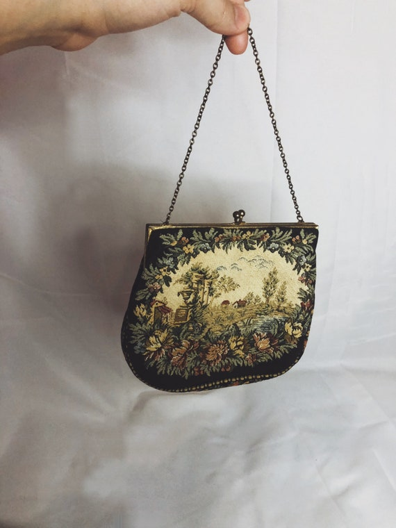 French Countryside Purse