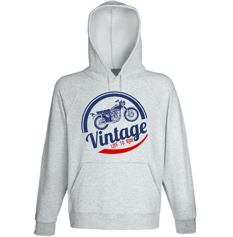 Biker Gifts Honda CB450 K2 Vintage Live to Ride Bike Hoodies Motorcycle Gift Motorcycle Sweatshirt Motorcycle Sweater