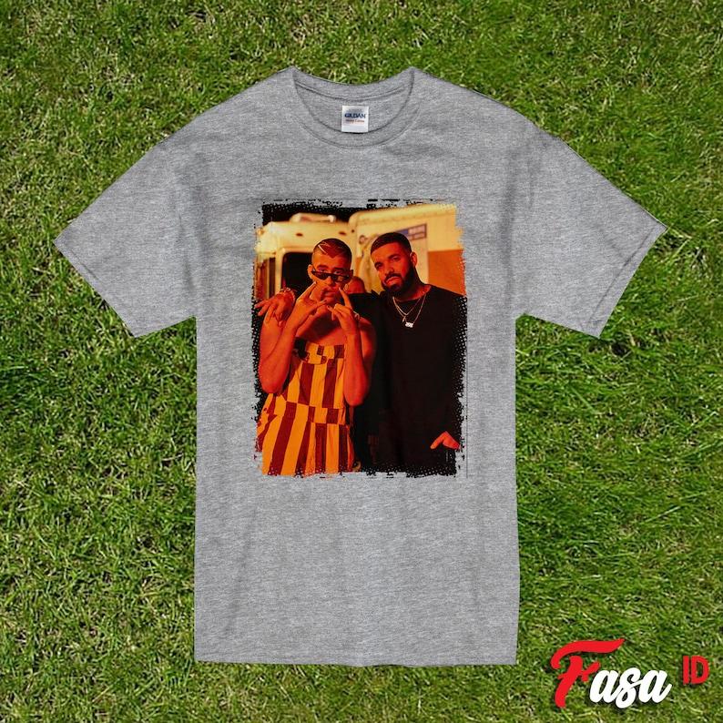 Rabbit Shirt Bad Bunny Tee Drake Shirt Bunny Rabbit Shirt Bunnies Shirt Bad Bunny Shirt Bad Bunny x Drake T-Shirt