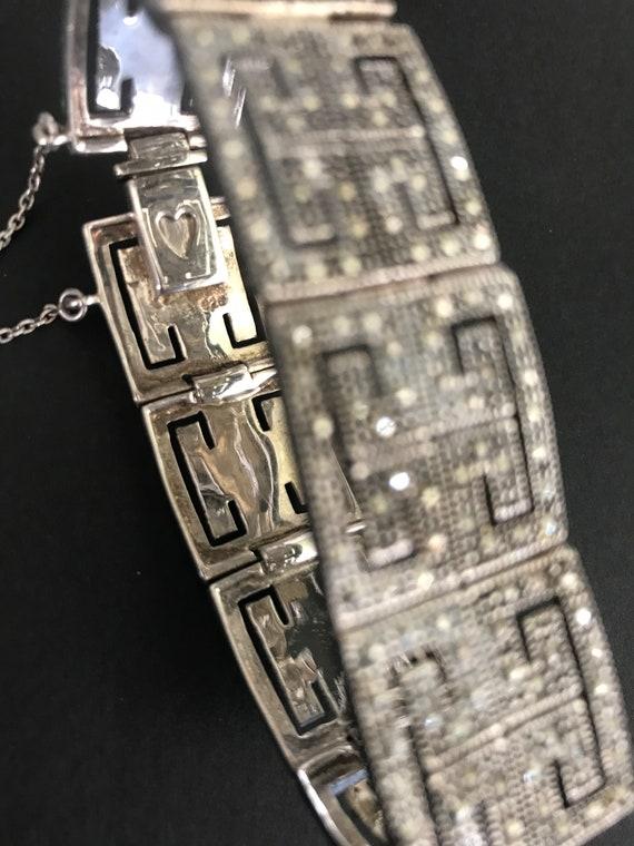 Art Deco marcasite bracelet