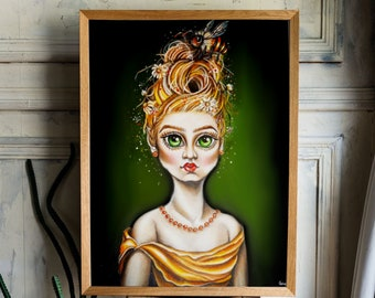 Queen Bee - Fine Art Print