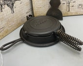 Collectors Look E.C. Simmons Hardware 39 s quot Keen Kutter quot Waffle Iron . c. Late 1800s-early 1900s ( Keen Kutter Broad Axe Blade Not Included)