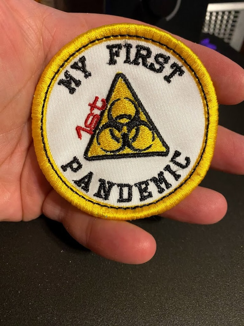 My 1st Pandemic Adult Merit Badge Embroidery Design FILE ...