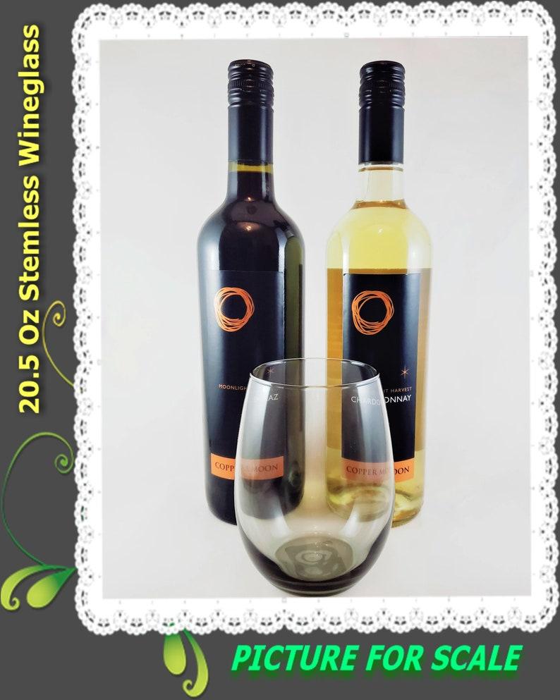 Stemless Wine Glass Virgo Wine Glass 20.5oz Wine Glass Virgo Etched Stemless Wine Glass No Duplicates ONLY ONE Sarcasm Wine Glass