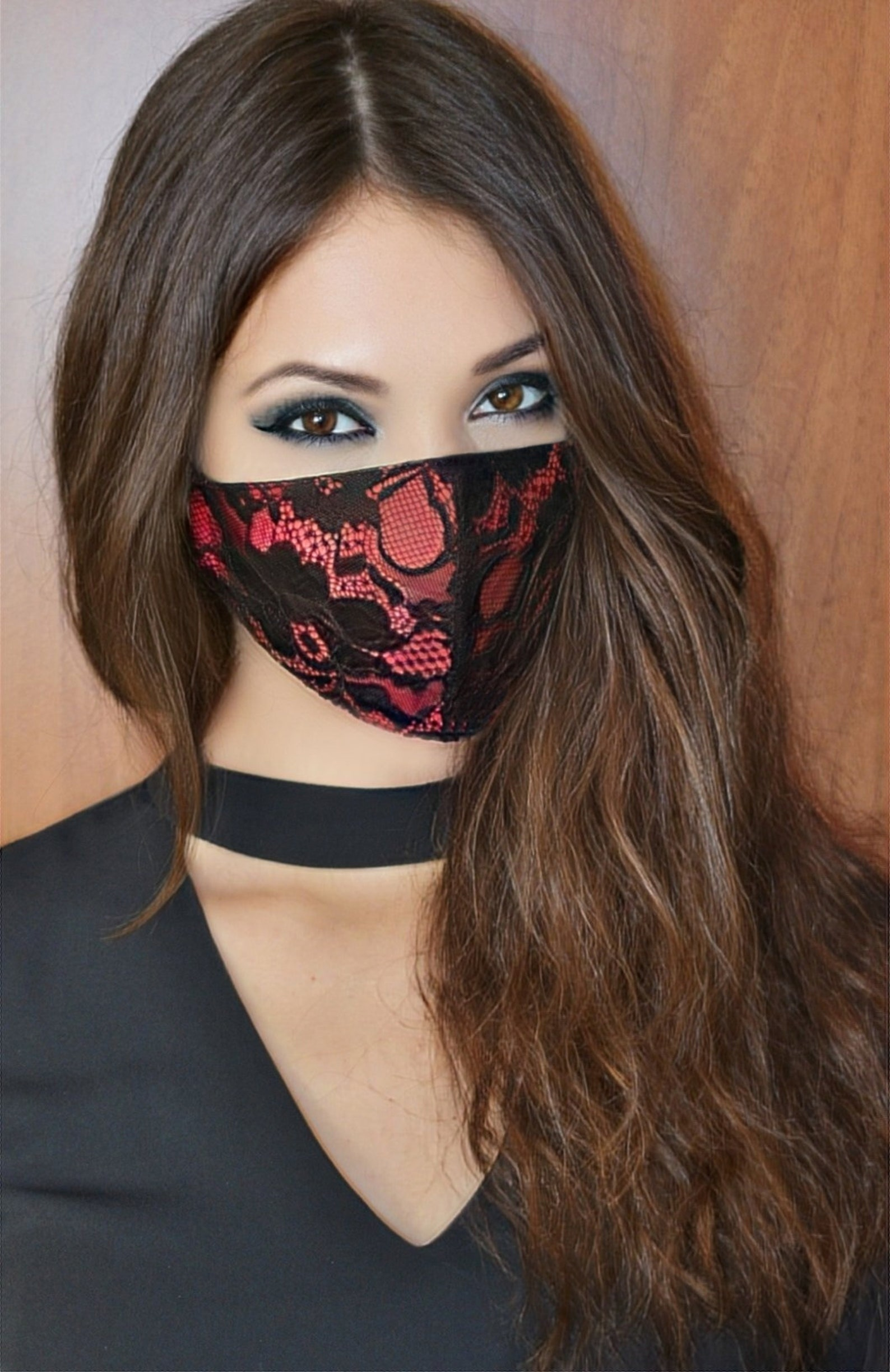 Designer Face Masks Available on Etsy