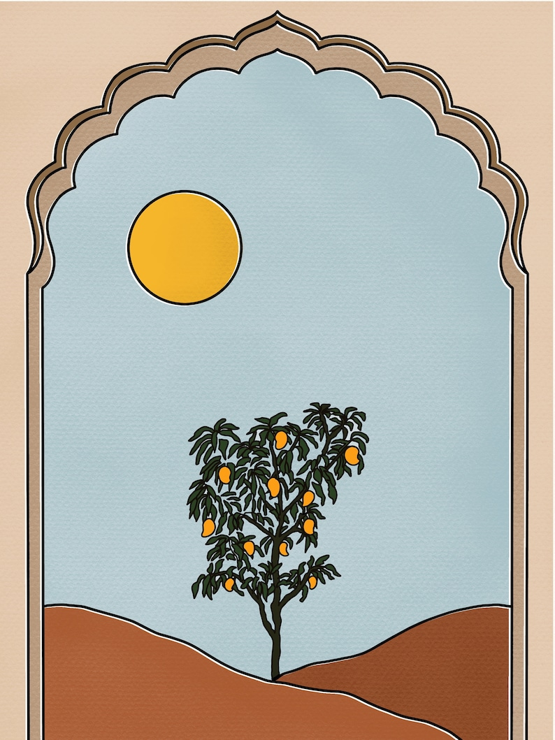 Black Mango Tree Under the Sun Shirt