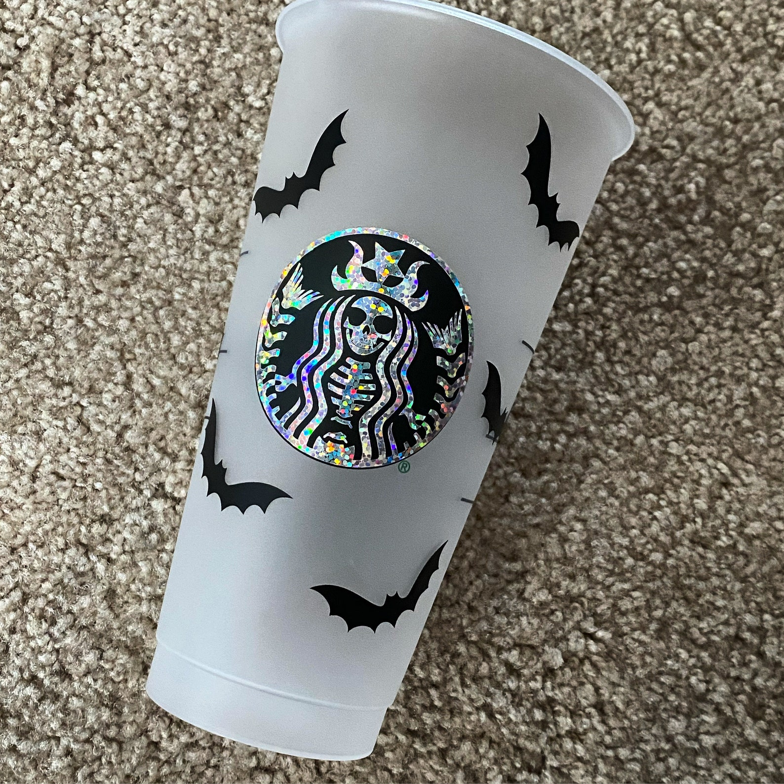 Skeleton Starbucks Reusable Tumblers