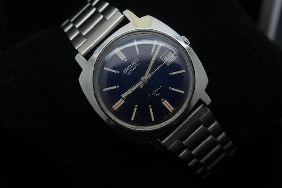 Seiko 1970s Vintage Seiko 5 Automatic Day/Date Ge… - image 2