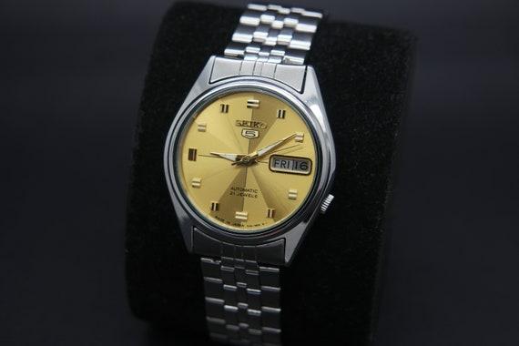 1970s Seiko Vintage Seiko 5 Automatic Day/Date Gen