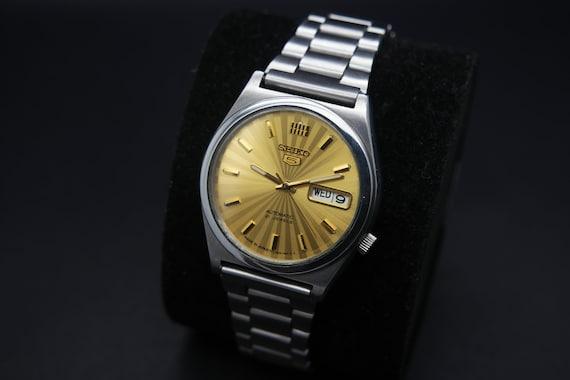 Rare Seiko 1970s Vintage Seiko 5 Automatic Day/Da… - image 1