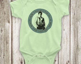 ONE STEP AT A TIME ROCKY UNOFFICIAL CREED BOXING FILM BABY GROW BABYGROW GIFT