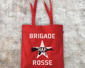 Brigade Rosse As Worn By Joe Strummer Punk Rock Singer Guitarist Unofficial Cotton Tote Bag Shopper