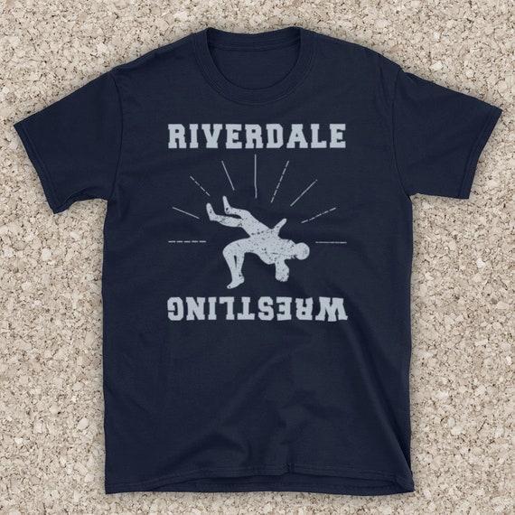 Riverdale Wrestling Team Logo American Teen Drama TV Show High School Unofficial Cotton Tote Bag Shopper