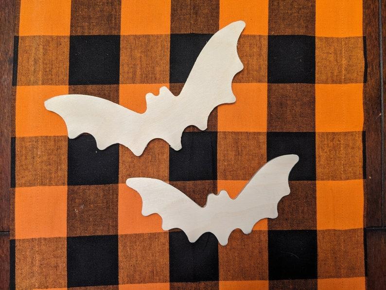 Large Bat Cutouts