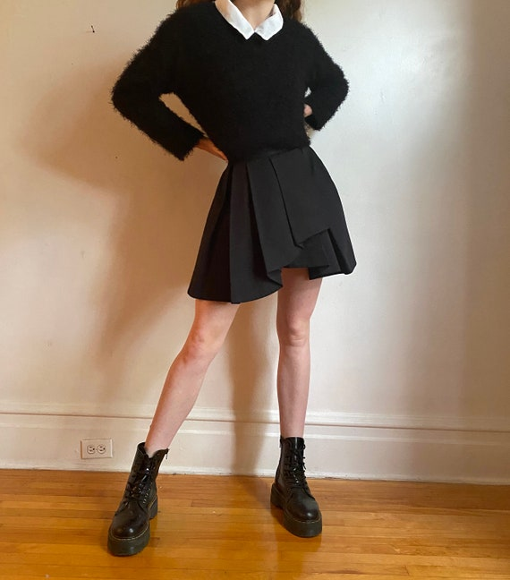 black tennis skirt - french connection