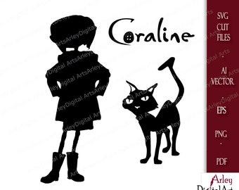 Coraline Svg Etsy