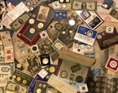 Coin Grab Bags US WORLD Coin Hoard - Grab Bags - Old Antique Coins Old Money, Rare Coins, Proof Coins, Uncirculated Coins More